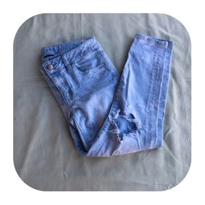 American Eagle size 4 cropped jegging